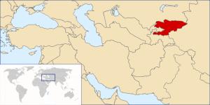 Kirgizisztán fekvése