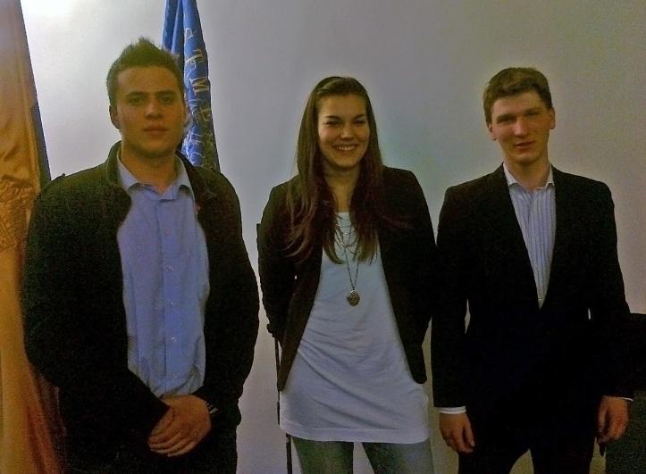 A Szentendrei Diákönkormányzat elnöksége