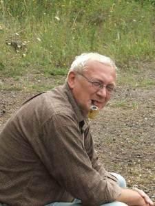 1. kép. Kordos László professzor, akiről a Kordosia óriáscickány-csoport a nevét kapta. (Mészáros Ildikó felvétele).